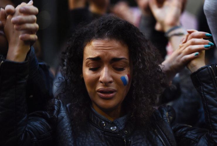 Zebranie solidarności w Sydney, fot. AFP