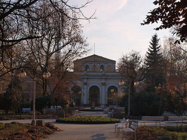 Park Zdrojowy i Sanatorium Marconi, fot. Henryk Żychowski