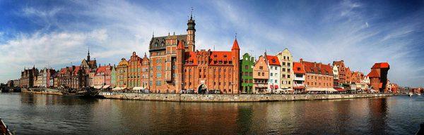Panorama Gdańska, fot. wikimedia