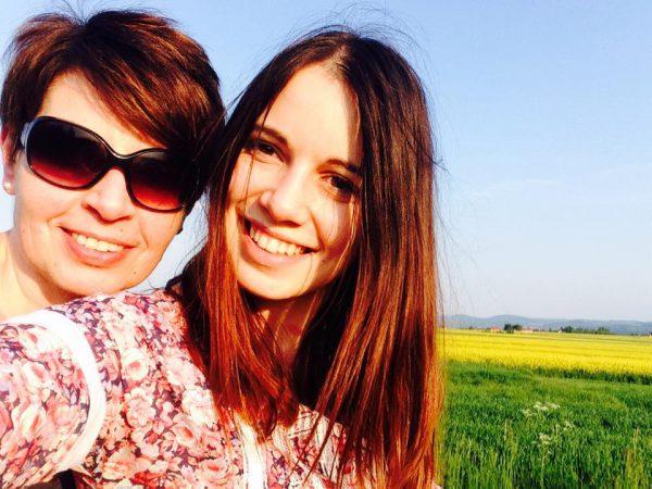 Asia z mamą